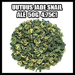 uutuus vihreä tee jade snail ale-hintaan -15% vain 4,75€!