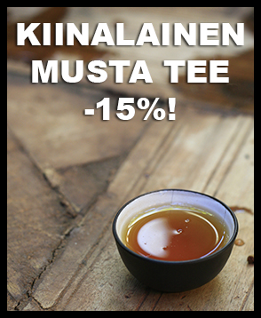 Kiinalainen musta tee nyt -15% ALE-hintaan. Tutustu valikoimaan ja tilaa aromaattista, tummaa ja lämmittävää mustaa teetä!