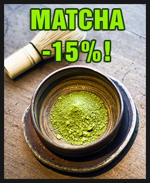 Matcha-tee nyt -15% ALE-hintaan. Tutustu valikoimaan ja tilaa kesäisen vehreää matchaa!