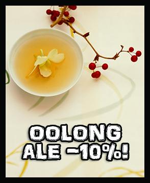Kaikki valikoiman oolong-teet nyt -10% ALE-HINTAAN. Tilaa nyt korkealaatuista kiinalaista ja taiwanilaista oolongia!