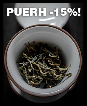 Tarjoamme nyt kaikki valikoman puerh-teet -15% tarjoushintaan. Tilaa heti!